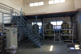 Pretreatment Platform At Matoda