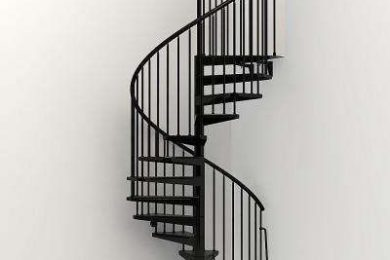 MULTI STORY EMERGENCY MS STAIRCASE