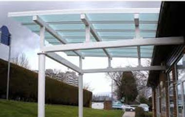 MS/SS CANOPY WITH GLASS